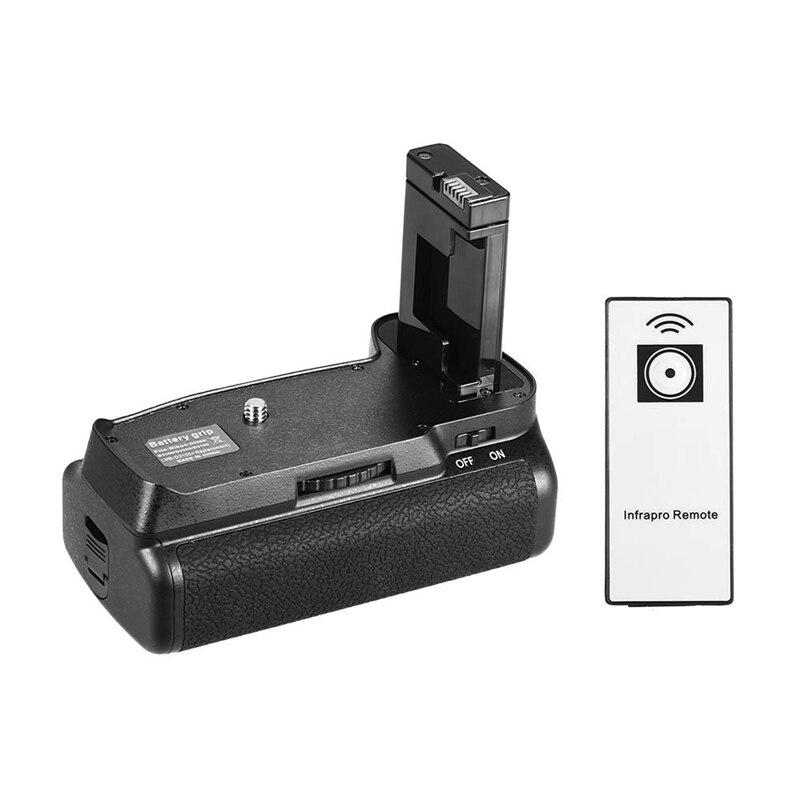 Soporte Vertical de batería para Nikon D5300 D3300 D3200 D3100 Dslr cámara En El 14 alimentado por batería con Control remoto Ir