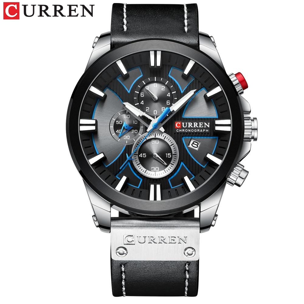 New CURREN Men Watches Fashion Quartz Wrist Watches Men's Military Waterproof Sports Watch Male Date Clock Relogio Masculino 3