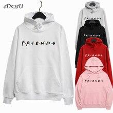 Women Hoodies Best Friends Sweatshirt Ov