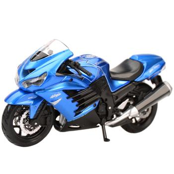Maisto 1:18 Kawasaki-Ninja ZX-14R Static Die Cast Vehicles Collectible Hobbies Motorcycle Model Toys welly 12167p велли модель мотоцикла 1 18 motorcycle kawasaki 2001 ninja zx 12r