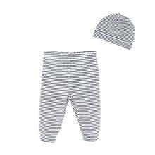 Теплая Вельветовая одежда для малышей комплект с шапками леггинсы