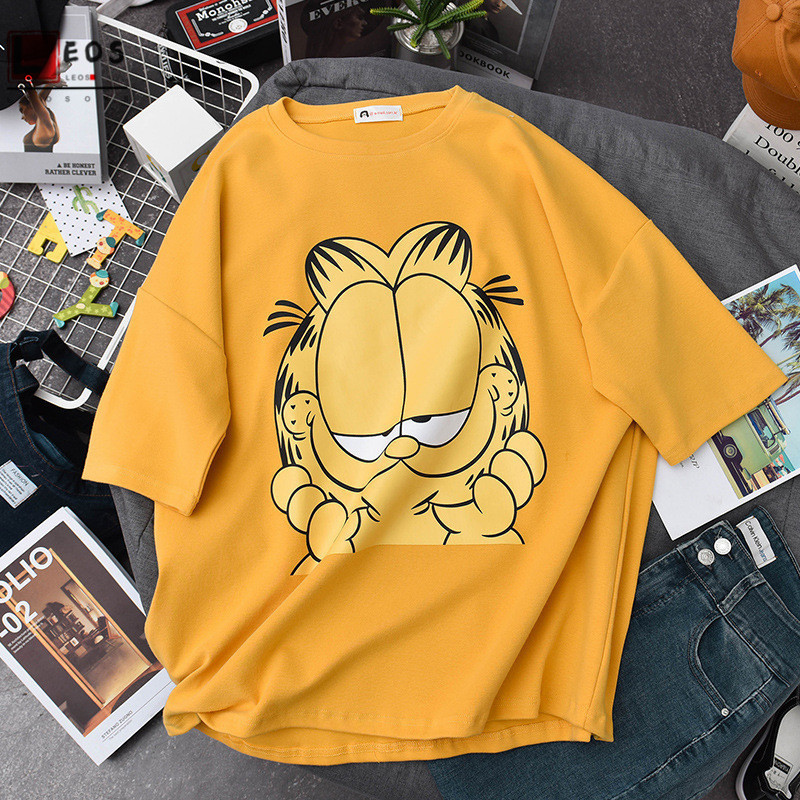 Garfield 40 Looks Unisex Toddler T Shirt for Boys and Girls