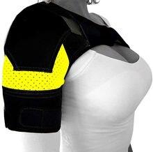 Cinta de ombro-suporte de manguito rotador para prevenção de lesões, articulação ac deslocada, rasgo de labrum, dor de ombro congelada