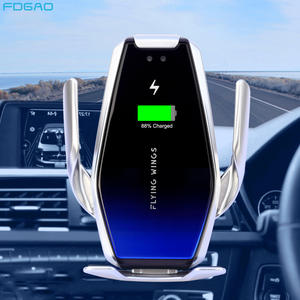 FDGAO Car-Charger Wireless Phone-Mount Automatic Samsung 15W for 11 XS Xr-X-8 S20/Infrared/Sensor