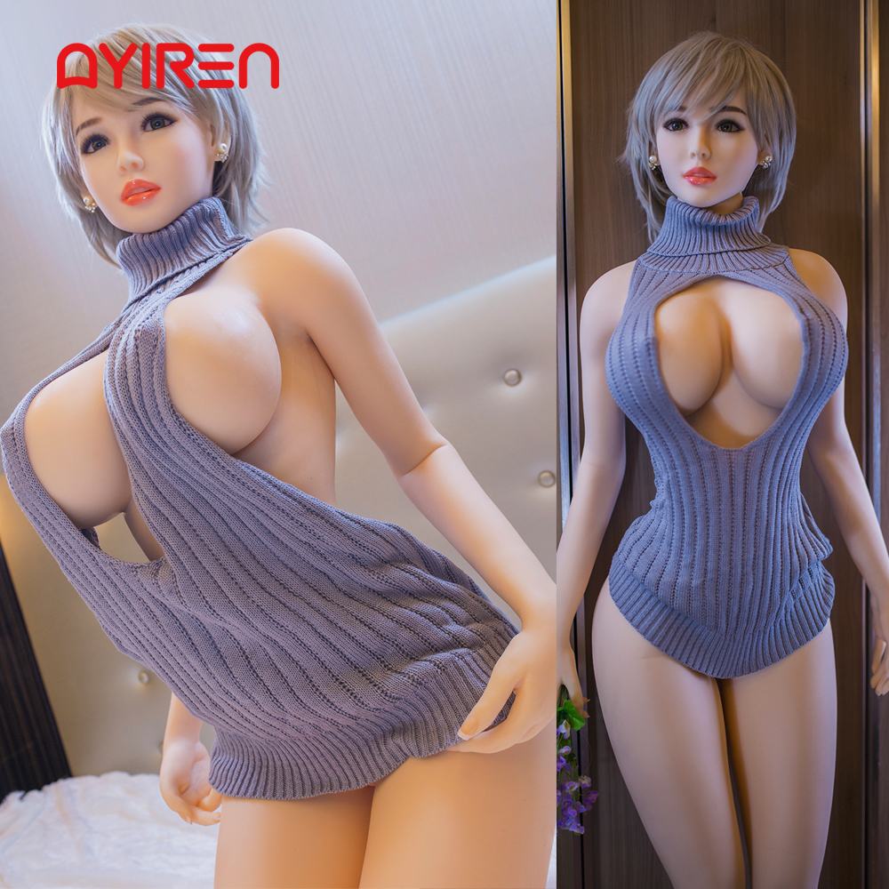 AYIREN 170cm Silicone <font><b>Sex</b></font> <font><b>Doll</b></font> Realistic Lifelike Big Breast Big Ass Mini Vagina Anus Oral <font><b>Sex</b></font> Love <font><b>Doll</b></font> for Men <font><b>Sex</b></font> Toys image