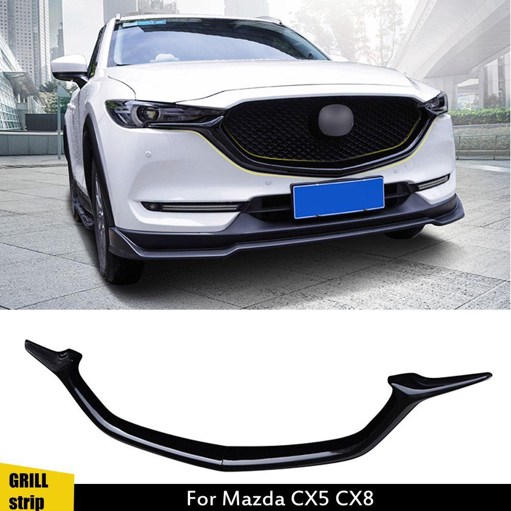 Автомобильная Решетка переднего бампера, сетчатая решетка, планка, Накладка для Mazda CX-5 CX5 CX8 2017 2018 2019