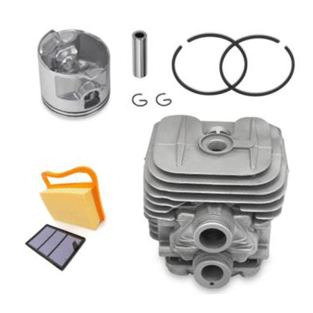 Outdoor Cylinder Piston Kit For Stihl TS410 TS420 Rings Air Filter Replacement Accessories