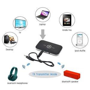 Image 3 - 2020 Bluetooth 5.0 nadajnik dźwięku odbiornik Stereo Adapter bezprzewodowy 3.5mm 3.5 AUX Jack RCA klucz USB do słuchawek samochodowych PC TV