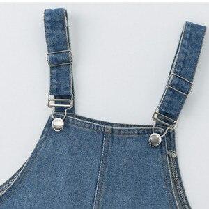 Image 5 - 2020 ฤดูใบไม้ผลิใหม่มาถึงสั้นเด็กOverallsกางเกงสำหรับสาวแฟชั่นเด็กกางเกงยีนส์กางเกงหลวมกางเกงหญิงกางเกง,#8329