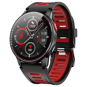Image 1 - S20 IP68 Waterproof Smart Watch Fitness Tracker Heart Rate Monitor Smart Clock Men Women New Smartwatch For Android IOS