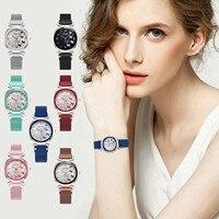 Elegante Frauen Business Uhr Mit Luxus Design Damen Social Uhren Edelstahl Armband Quarzuhr Uhren Weibliche