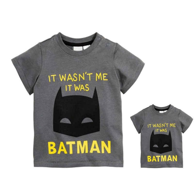 T-Shirts Toddler Infant Baby Boy Girls Clothing 2017 Cartoon Dark Gray Short Sleeve Cotton T Shirt Tops Baby Boys 12M 18M 24M 3T
