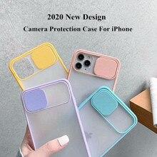 Slide Lens Window Phone Case For iPhone