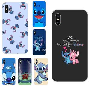 Cartoon Stich For Galaxy Grand A3 A5 A7 A8 A9 A9S On5 On7 Plus Pro Star 2015 2016 2017 2018 Soft Call Box