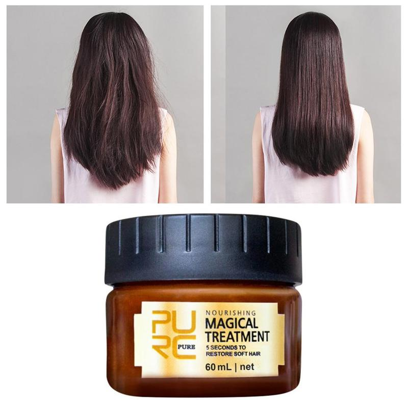 Magical Treatment Hair Mask 5 Seconds Repair Damage Restore Nutritious Moisturizing Supple Soft Hair Conditioner Scalp Treatment image