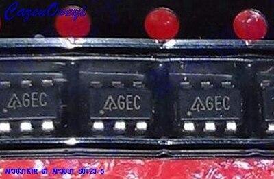 10pcs/lot AP3031KTR-G1 AP3031 Boost Manifold IC Chip SMD SOT23-6 New Original In Stock