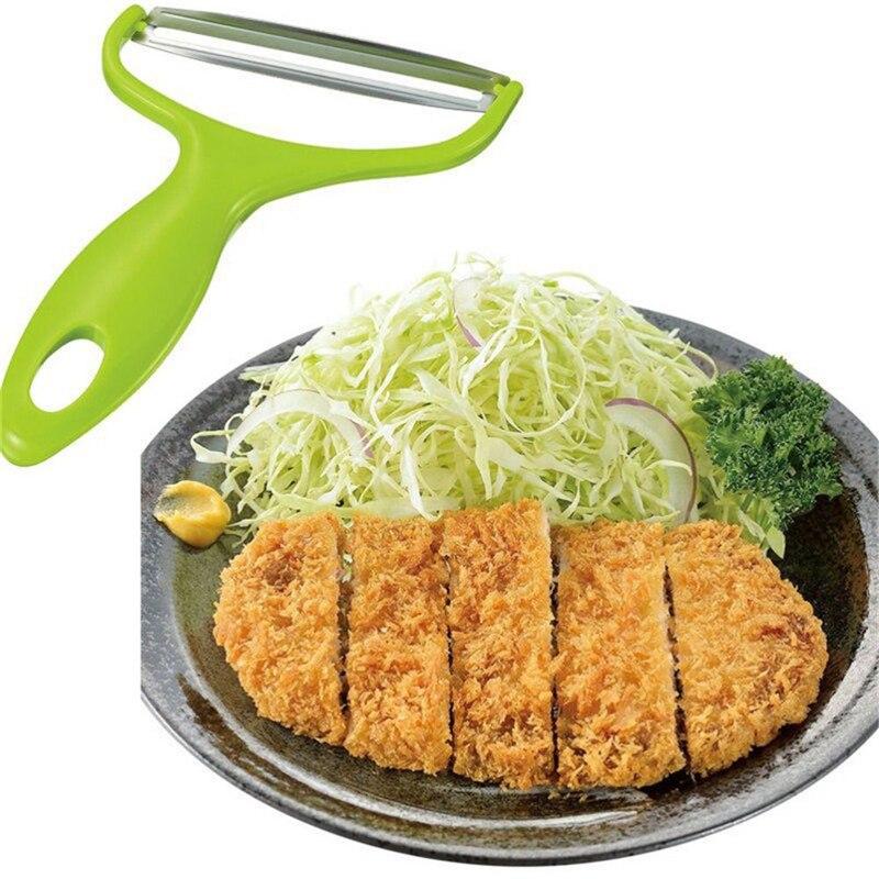 New Stainless Steel Cabbage Slicer Vegetables Graters Cabbage shredder Fruit Peeler Knife Potato Zester Cutter Kitchen Gadgets