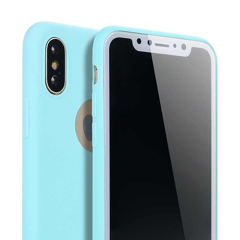 Ricestate yumuşak silikon şeker puding kapak için iPhone 6 6S 7 8 artı Xr Xs Max SE 2020 kılıf iphone 11 Pro Max telefon kılıfı