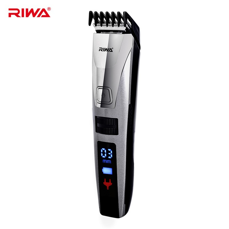 Riwa K3 Multifunction LCD Hair Clipper Professional Hair Trimmer Electric Beard Clipper Hair Cutting Machine Trimer Cutter Tool