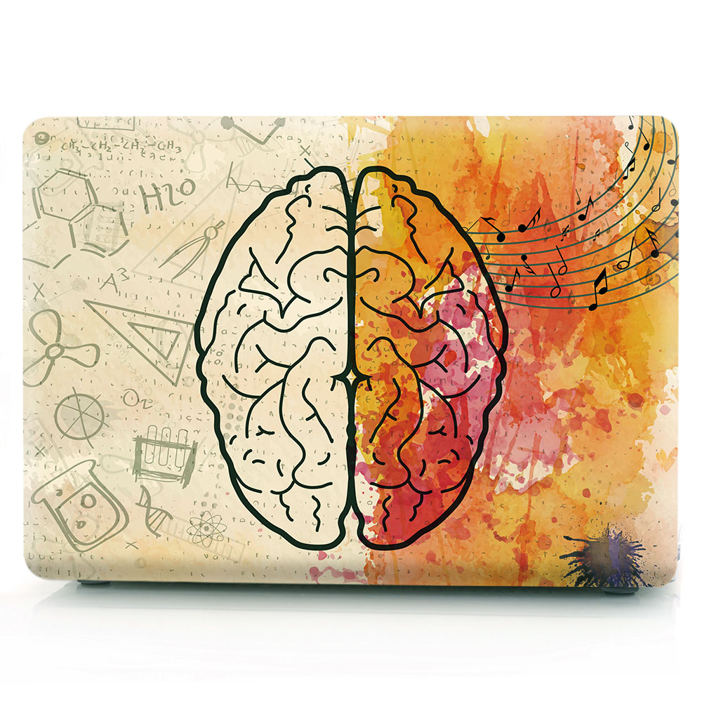 Brain Painting Case for MacBook 125