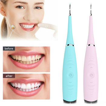 Portable Electric Ultrasonic Dental Scaler Tooth Calculus Tool Sonic Remover Stains Tartar Plaque Whitening Oral Cleaner Machine portable electric sonic dental scaler tooth calculus remover tooth whitening oral hygiene tartar tool health oral cleaner