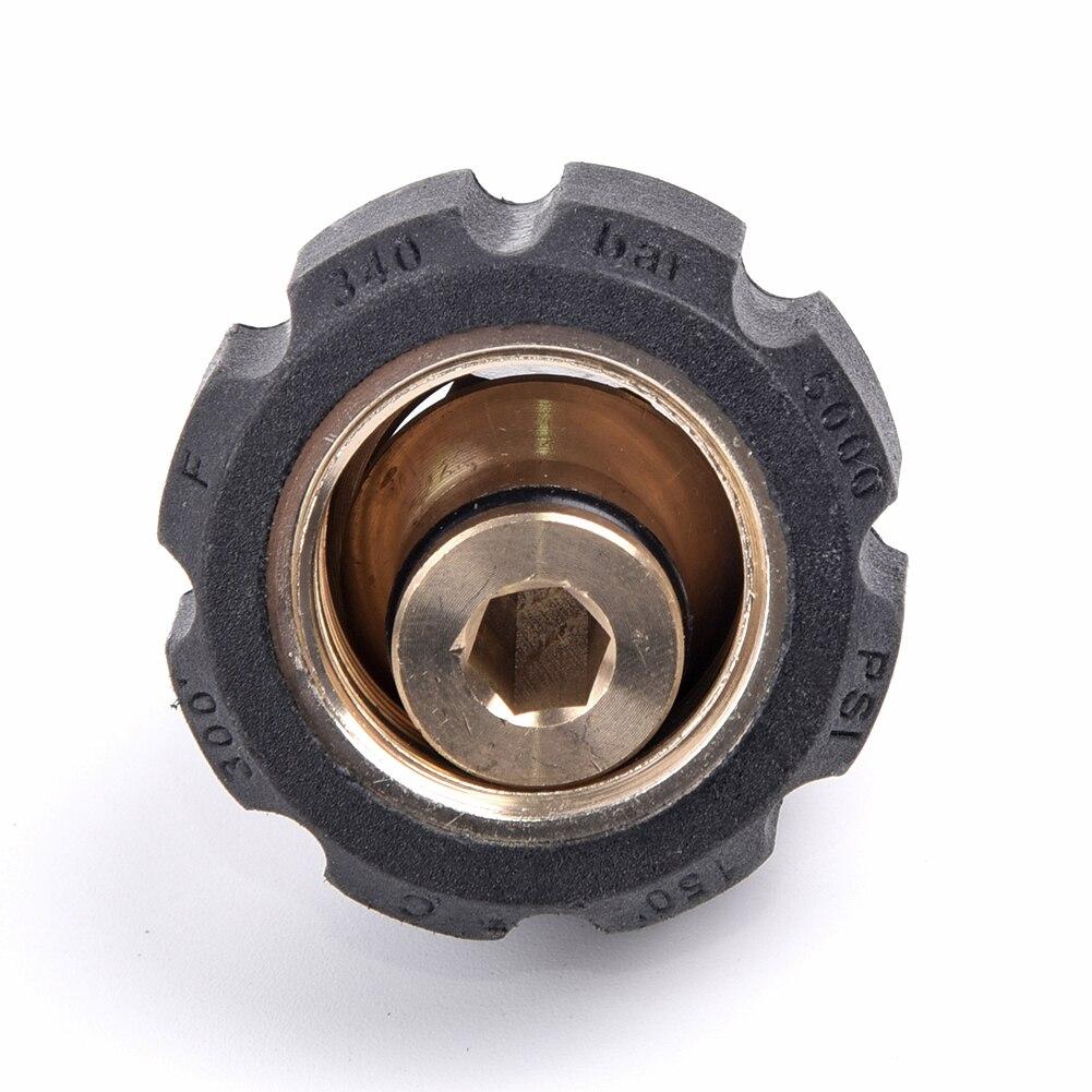 Für Druck Scheibe Verbinden Schnelle Stecker Weiblich M22 /14 Zu 1/4 Männlichen-Adapter