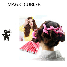 DIY Hair Curler Magic Roller 42 pcs/Lot Soft Curl Hair Bendy Rollers Hair Curlers Tool Styling Rollers Sponge Hair Curling 6pcs set magic sponge pillow soft roller hair best flexible foam and sponge hair curlers diy styling hair rollers tool for women