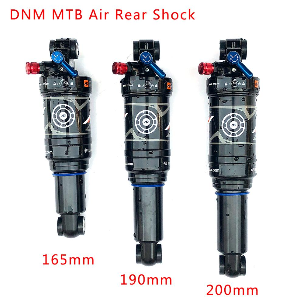 DNM AO-38RC Mountain Bike Air Rear Shock With Lockout 165/190/200mm MTB Downhill Bicycle Coil Rear Shock