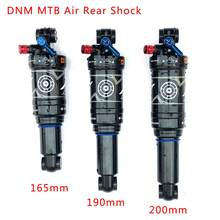 Dnm AO-38RC Mountainbike Air Rear Shock Met Lockout 165/190/200 Mm Mtb Downhill Fiets Coil Achter shock(China)