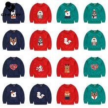New 2020 Children Kids Spring Autumn Sweatshirt Boys Girls Cute Cartoon Print Pullover Long Sleeve O-neck Hoodies Fashion Tops toddler sweatshirt boy autumn 2019 cartoon funny superman hoodies pullover tops t shirt cotton soft print long sleeve boys tops