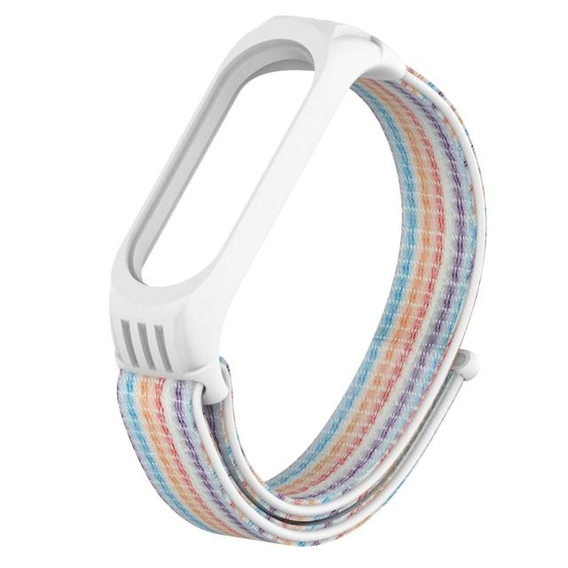 Nylon Replaceable Bracelet For Xiaomi Mi Band 4 Strap Nylon silicone Sport Wristband For Mi band 3 Mi Band 4 Smart Watch Strap