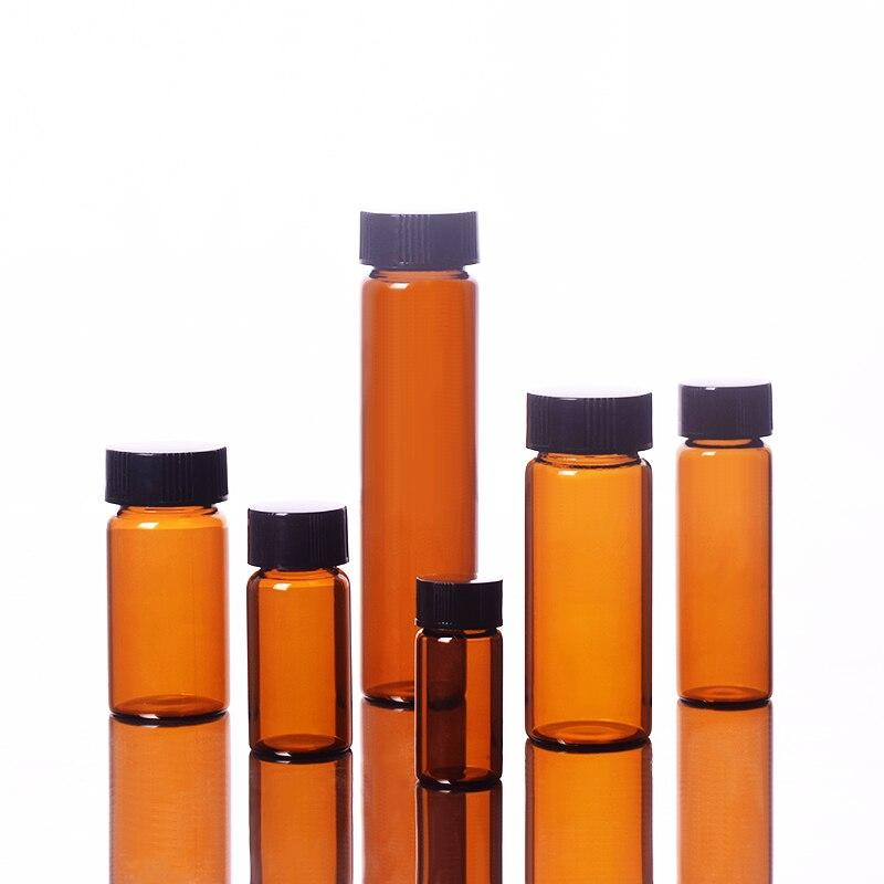 Free Ship╡Bottle-Capacity Strain-Bottles Brown 10ml 10pcs Lyophilized Vials Freeze-Dried Sample