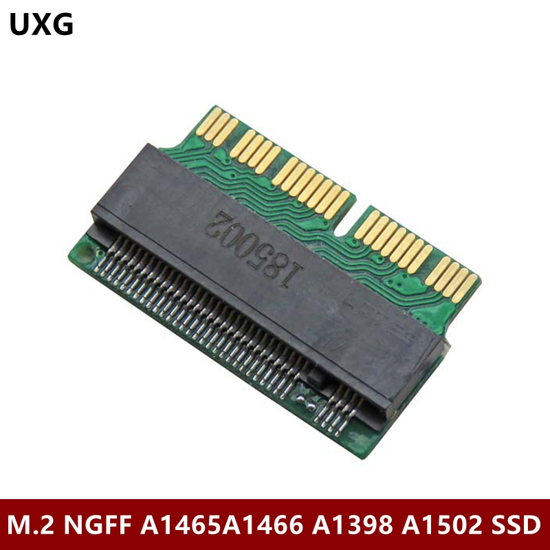 <font><b>m.2</b></font> <font><b>Adapter</b></font> NVMe <font><b>PCIe</b></font> M2 NGFF to SSD for Apple Laptop for Macbook Air Pro 2013 2014 2015 A1465 A1466 A1502 A1398 PCI-E <font><b>x4</b></font> image