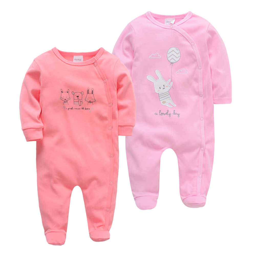 2 teile/los baby mädchen romper body Carters neugeborene Kleidung Volle Hülse 100% Baumwolle Overalls