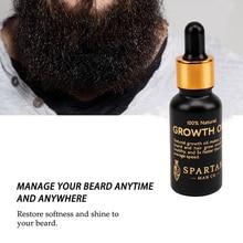 Oil-Kit Balm Conditioner Moustache Soften Beard Wax Hair-Growth Leave-In Enhancer Nourishing