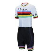 Banesto 2020 pro триатлон костюм для мужчин Велоспорт Джерси