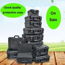 Ящик для инструментов ударопрочный защитный чехол чемодан ящик для инструментов коробка оборудование для камеры чехол с предварительно вырезанной поролоновой подкладкой