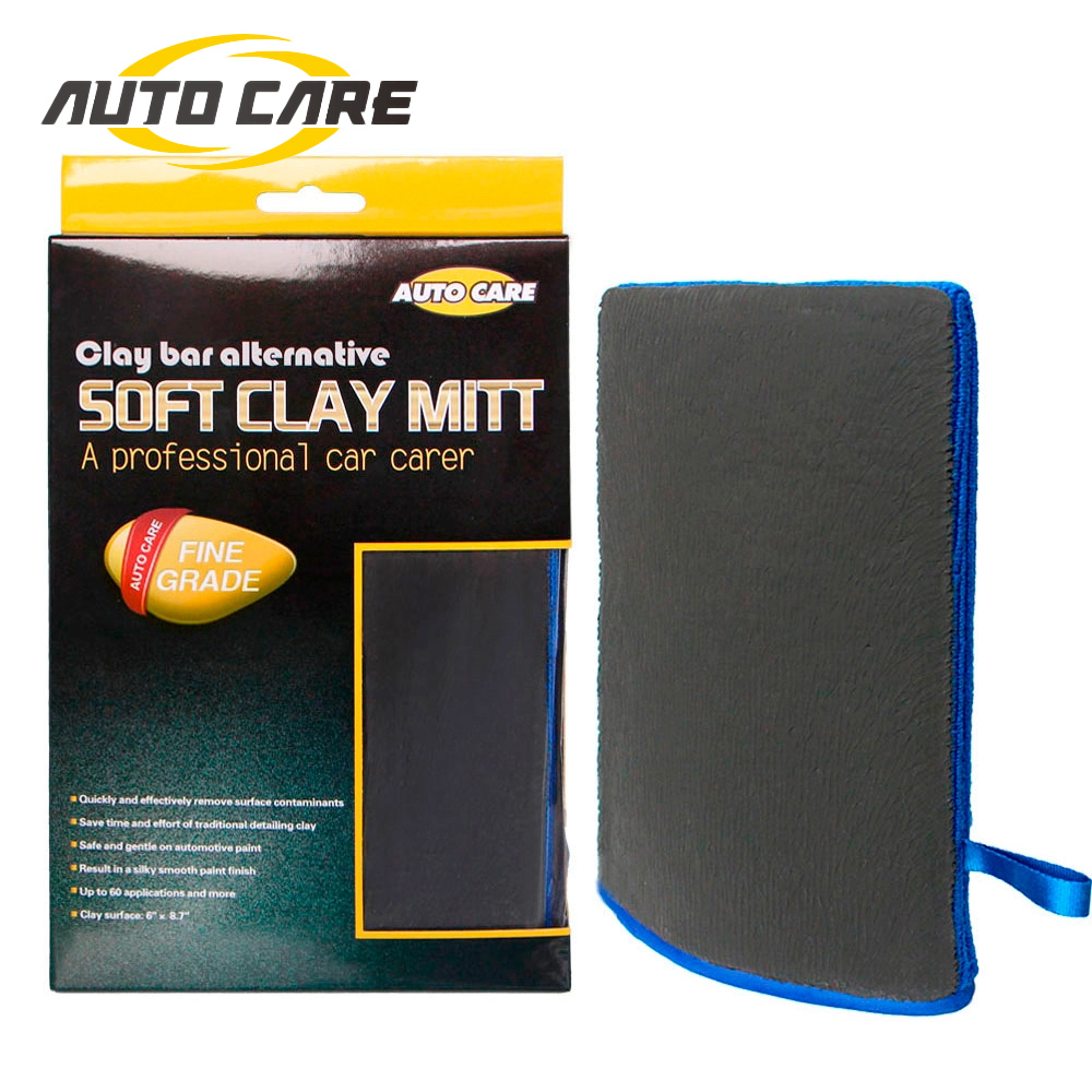 Car Detailing Magic Clay Mitt Bar Pad Cloth Microfiber Towel Auto Care Wash Pad