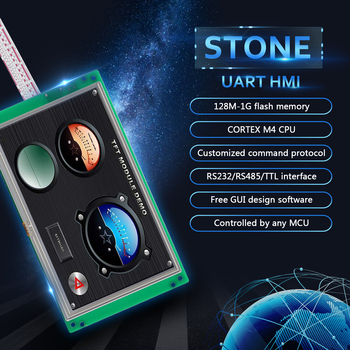 STONE HMI TFT LCD Display Panel With High Resolution And HMI Interface 5.0 Inch tp04g bl c delta text panel hmi stn lcd single color 4 lines display model new in box