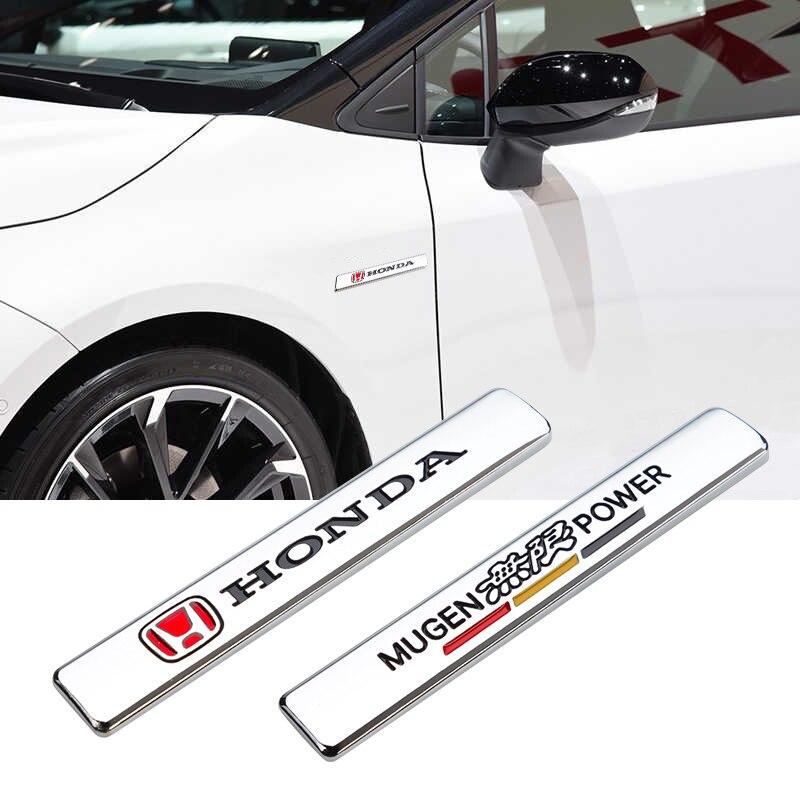 3D Металлическая Эмблема для машины VIP спортивные вышивальным знаком стикер аксессуары для Honda City CRV Fit Odyssey цивик аккорд пилот Vezel Insight Джаз ва...