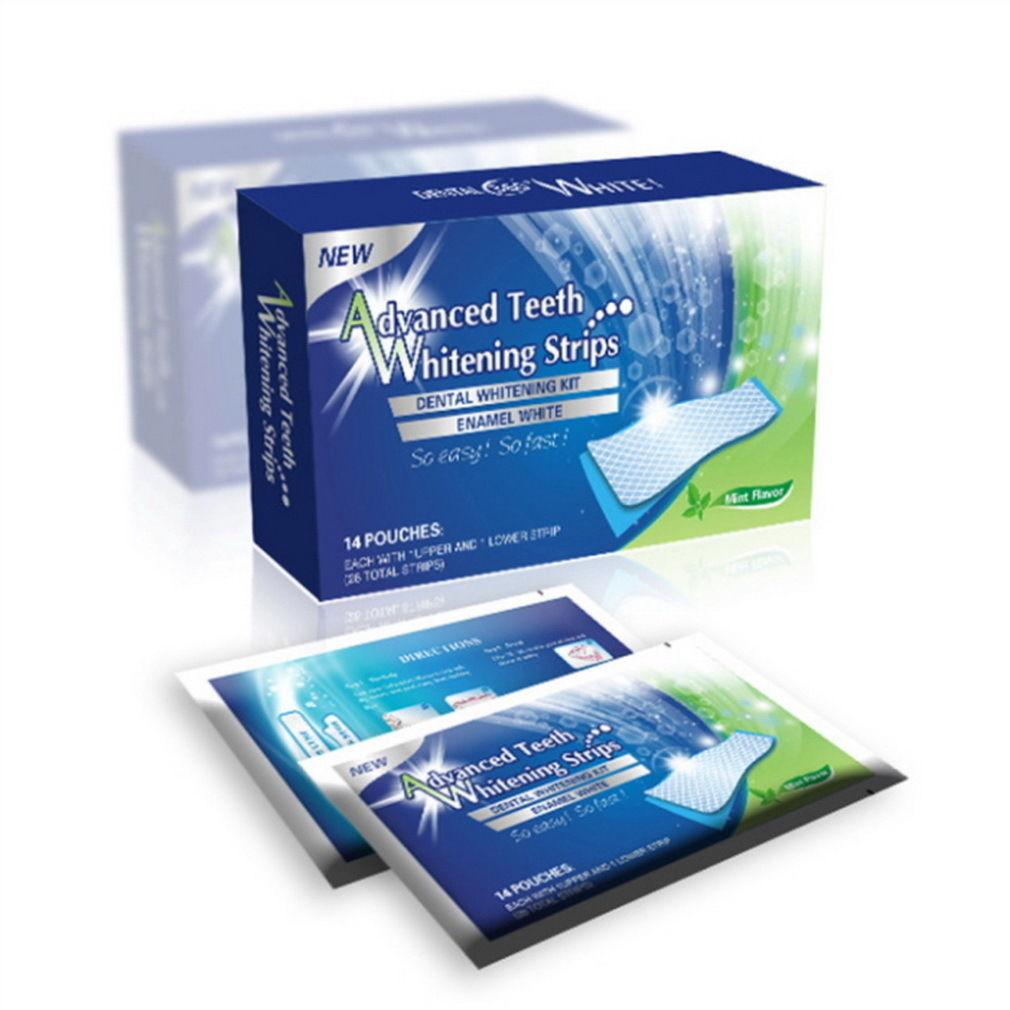 28 White Effects Dental Whitestrips Advanced Teeth Whitening Strips Stripes ES