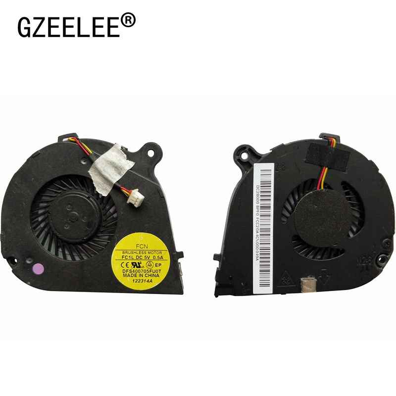 Gzeele New Laptop CPU Cooling Fan For Acer Aspire V5-171 Satu 756 V5-131 AC710 Notebook Prosesor Komputer EF50050S1-C060-G9A Fan