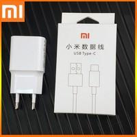 Xiaomi-cargador rápido Redmi k20, Original, QC3.0, UE, 9v, 2a, Cable Usb tipo c, adaptador de corriente, carga rápida para Mi A2, 9, 8, A1