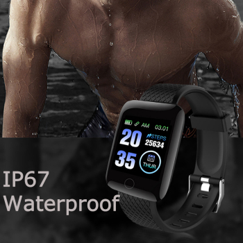 In Stock! D13 Smart Watches 116 Plus Heart Rate Watch Smart Wristband Sports Watches Smart Band Waterproof Smartwatch Android A2 2