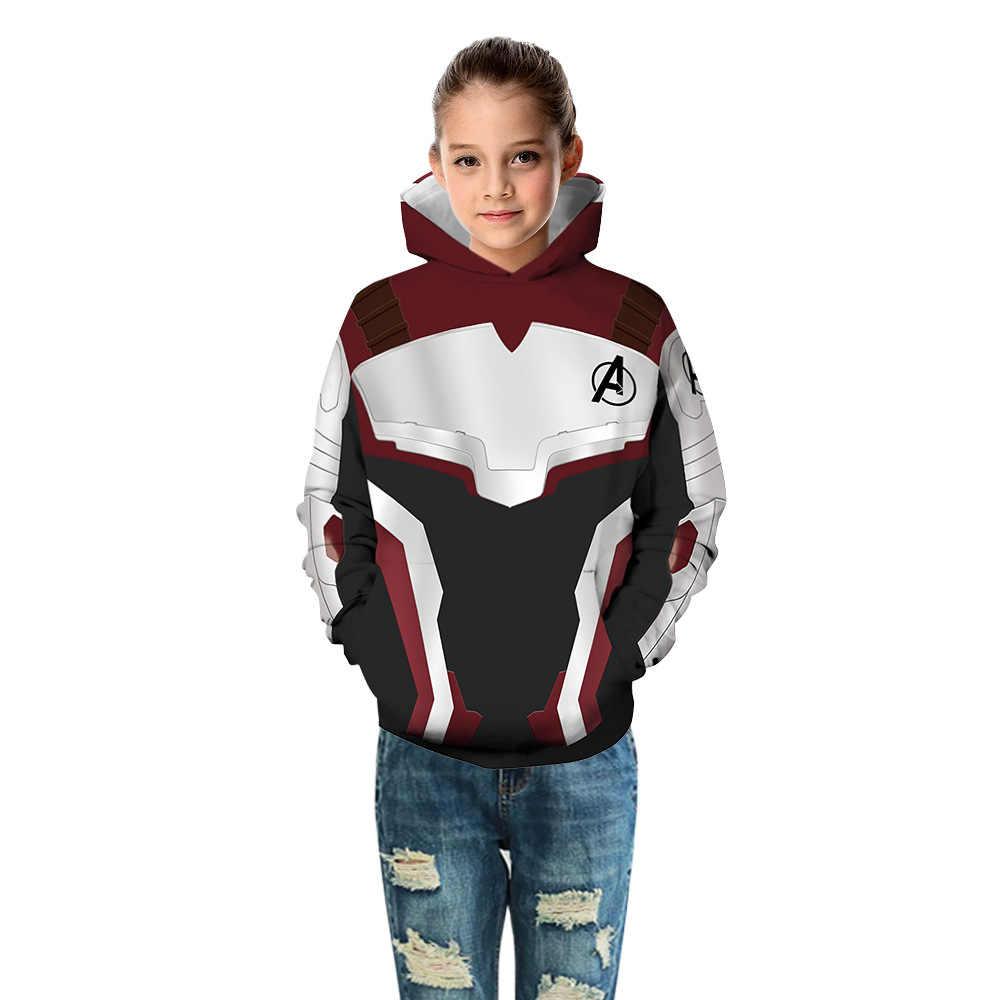 Kids Super Heroes Avengers 3D Print Hoodies voor Jongens Superheld Kinderen Hooded Sweatshirt Tieners Custom Hoody Riverdale Tops