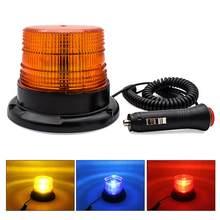 12v-lâmpada de emergência conduzida do estroboscópio da luz de piscamento do carro 80v com luz de advertência montada magnética do caminhão