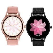 אישה חכם שעון 2020 Smartwatch ורוד כושר צמיד עם מותאם אישית Watchface בריאות צג מדיה חברתית הודעת VS DT88