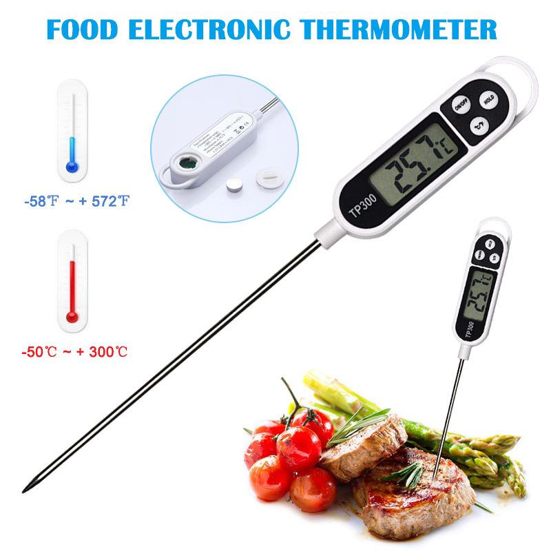 Digital COOKING FOOD MEAT Stab PROBE THERMOMETER KITCHEN MEAT TEMPERATURE