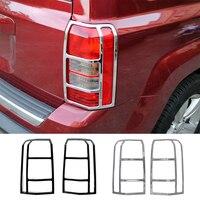 Mopai lâmpada capuzes para patriot abs carro traseiro luz da cauda lâmpada decoração capa guardas para jeep patriot 2011 2016 acessórios do carro|Cúpulas p/ abajur| |  -