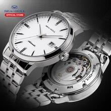 2020 Seagull, relojes para hombres y mujeres, reloj de negocios automático mecánico Acero, calendario impermeable, reloj de moda Simple 816.362